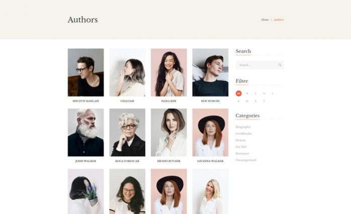 author-page